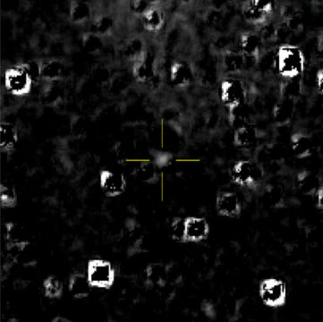 Optical navigation image of Ultima Thule from New Horizons