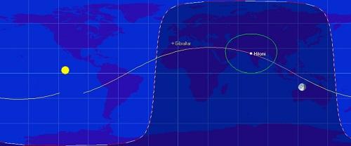 Hitomi's orbit