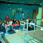 On June 23, 2009, David Levy addressed a group of enthusiastic young astronomers at the Bart Bok Telescope at Kitt Peak National Observatory during part of this year's astronomy camp held at the University of Arizona.
