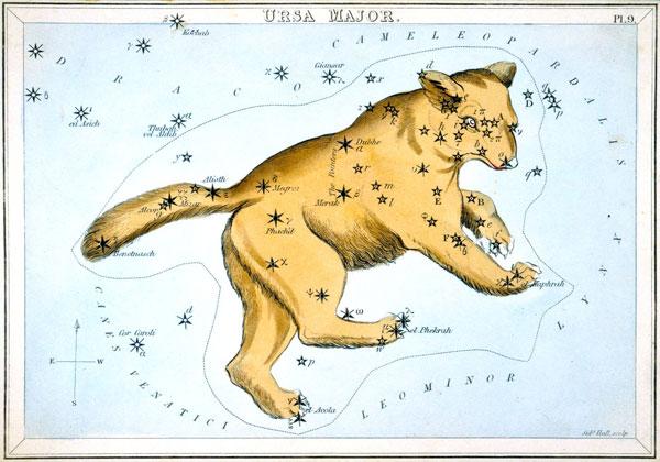Ursa Major from Urania's Mirror