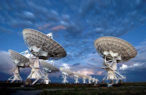 The Karl G. Jansky Very Large Array radio telescope