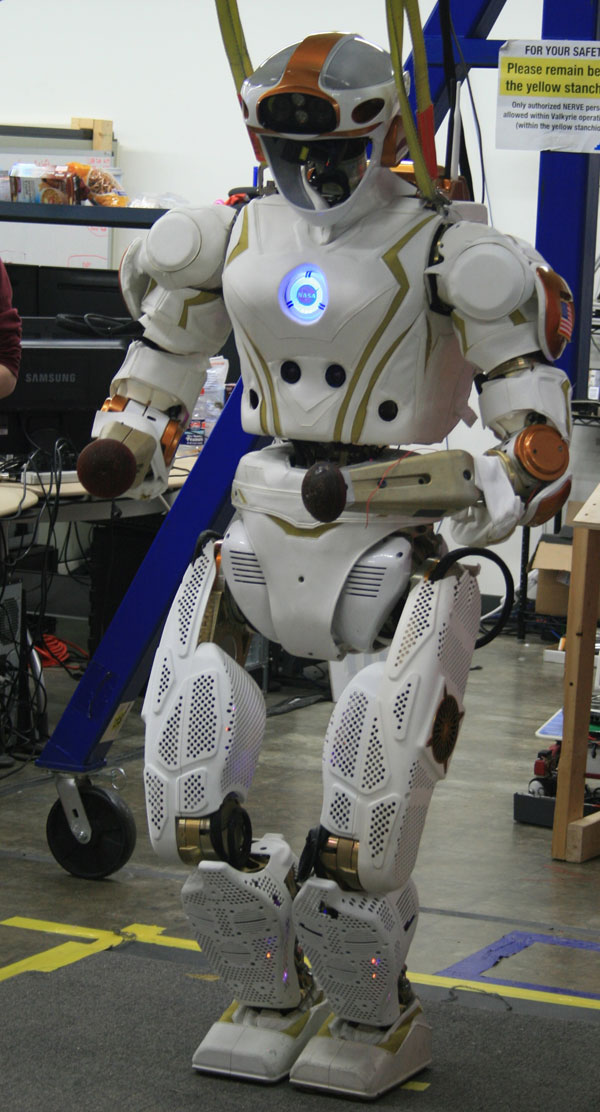 Valkyrie, NASA's humanoid space robot.