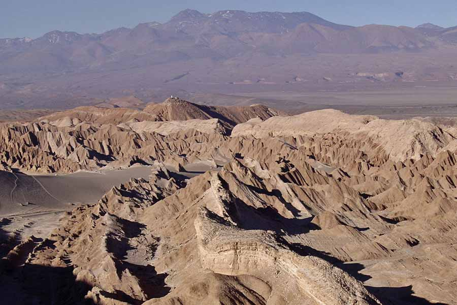 Valle de Marte in Chile's Atacama Desert