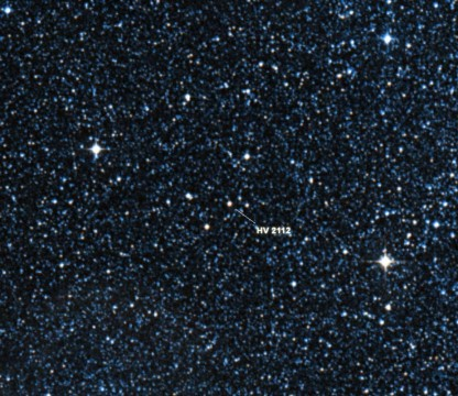 TZO Candidate HV 2112.Digital Sky Survey/Center de Données astronomiques de Strasbourg