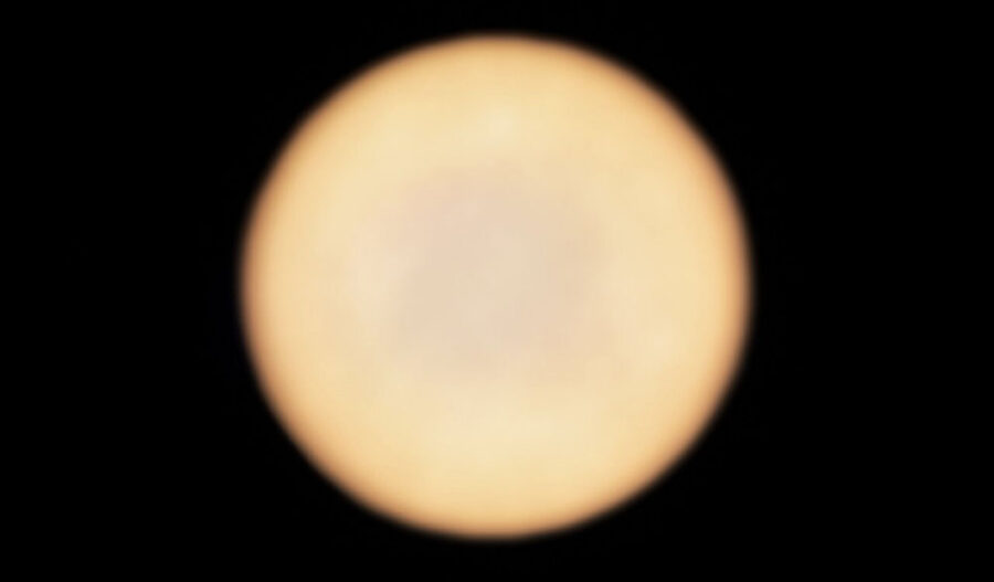 Venus as observed by ALMA