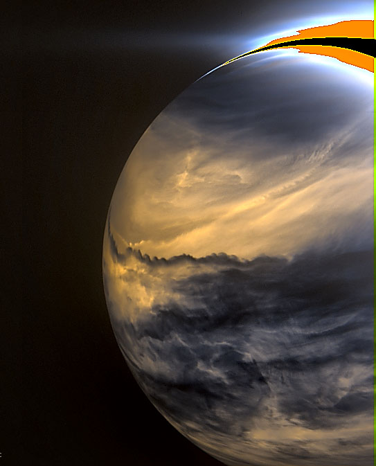 Dramatic cloud patterns