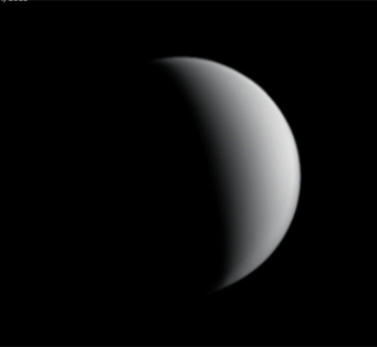 "On June 30th, Damian Peach imaged Venus at high resolution in the near-infrared shortly before sunset. ""No details were seen."""
