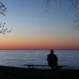Venus over Lake Superior