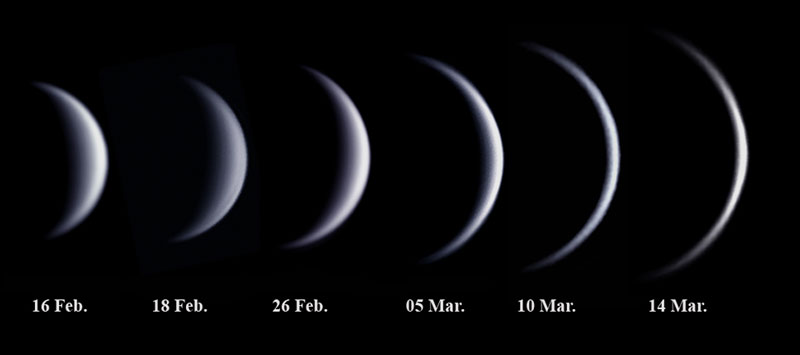 A Waning, Growing Venus