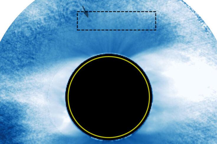 Venus's June 3rd transit across solar corona