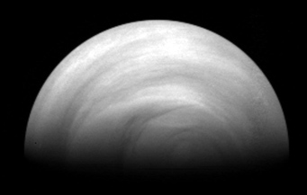 Ultraviolet view of Venus
