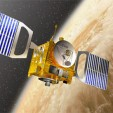Venus Express in orbit