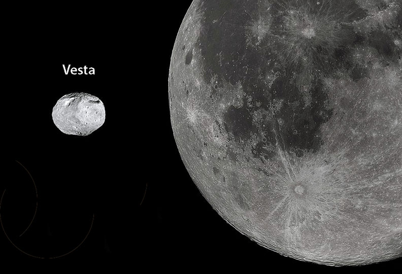Vesta Moon comparison