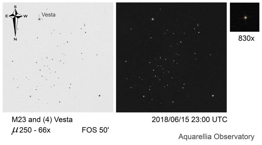 Vesta resolved
