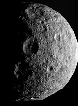 Vesta's north pole — at last!