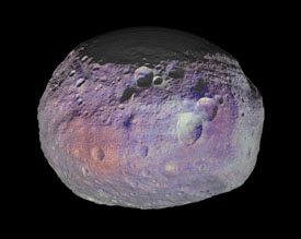 Vesta's coat of many colors