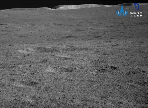 Rim of Von Kármán  Crater