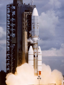 Voyager 2's launch