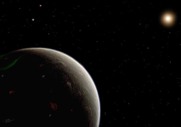 Art: A super-Earth we could call Vulcan