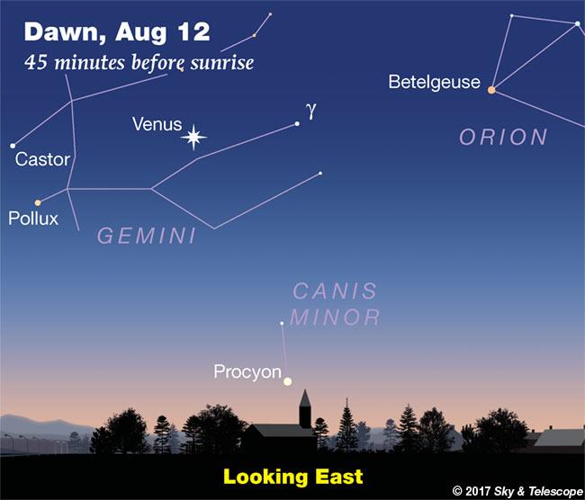 Venus in Gemini, week of Aug. 11-18, 2017