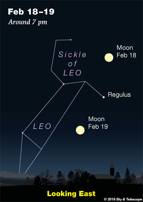 Full Moon in Leo, Feb. 18-19, 2019