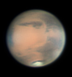 Mars as viewed from WSP 2012