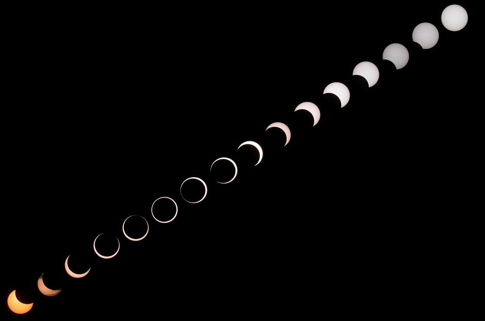 Annual Eclipse above Kinmen, Taiwan