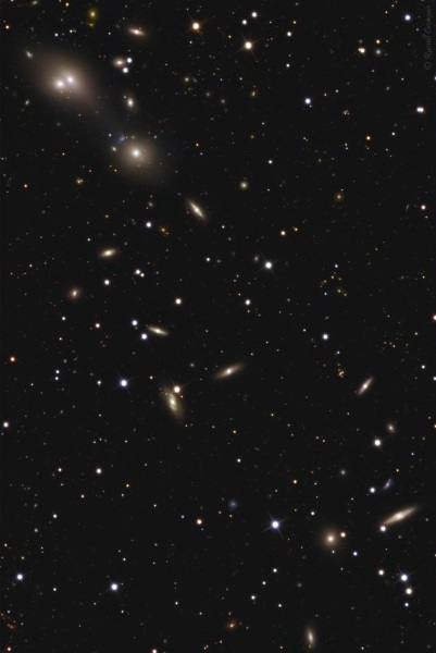 Abell 194 Galaxy Cluster