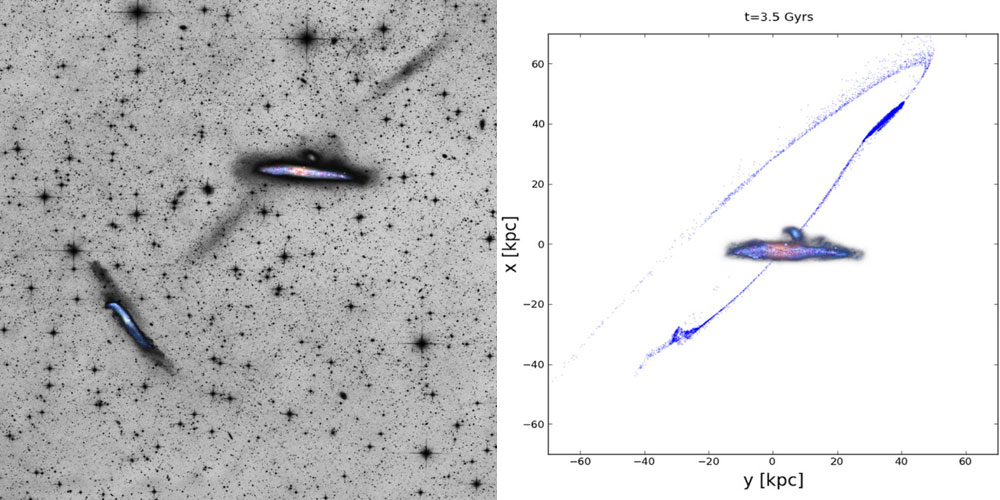 Whale galaxy, NGC 4631