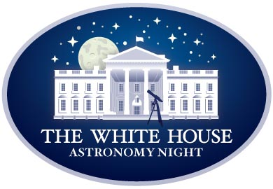 White House Astronomy Night logo