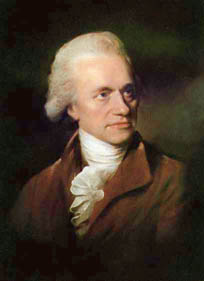 William Herschel, the amateur astronomer who discovered the ice giants, Neptune and Uranus.
