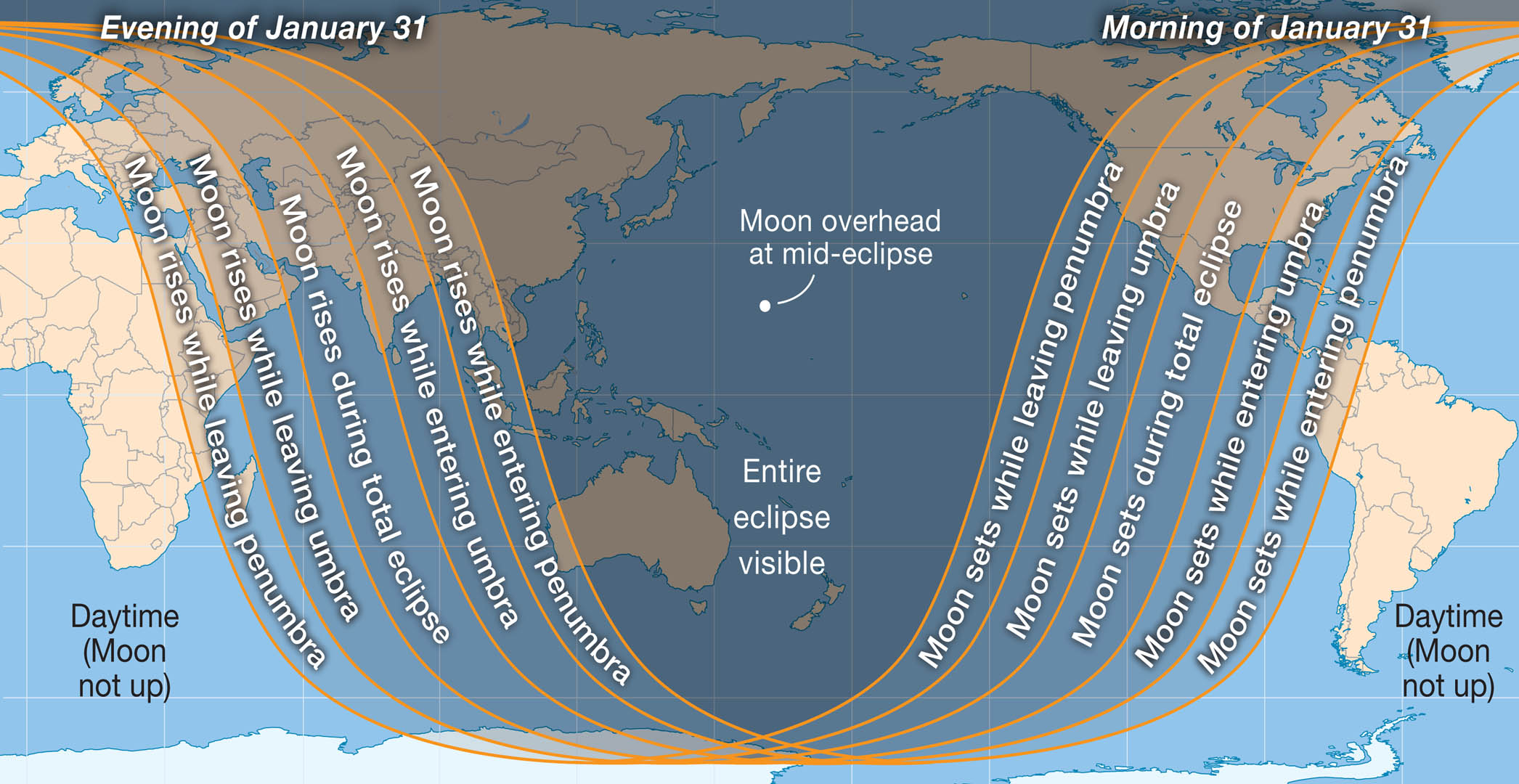 World map for Jan 2018 eclipse