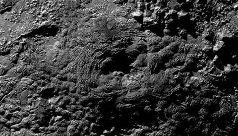 Wright Mons on Pluto