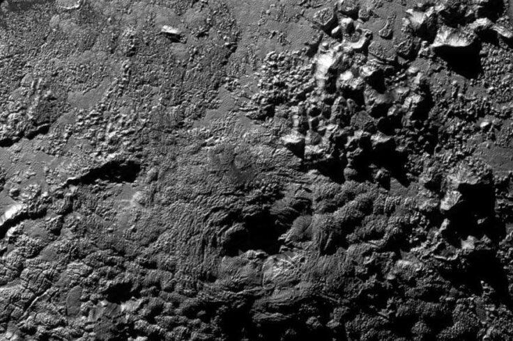 Wright Mons on Pluto