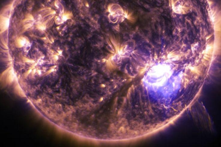 X-class solar flare, December 2014