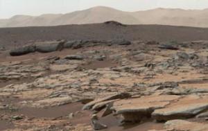 Yellowknife Bay on Mars