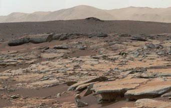 Yellowknife Bay on Mars