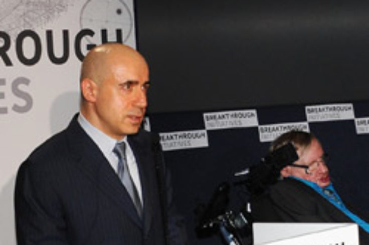 Yuri Milner's SETI announcement