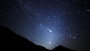 Perseids and the zodiacal light