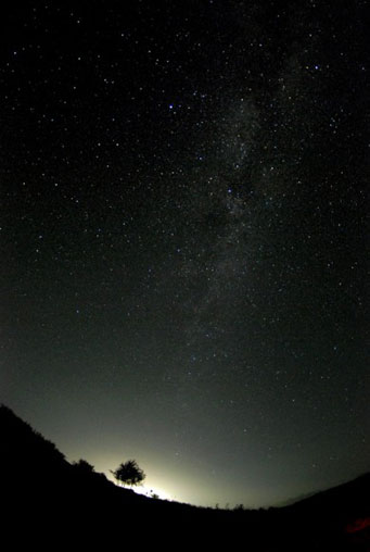 Milky Way over Afghanistan