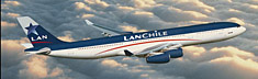 LanChile Airbus A340