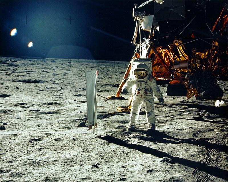 Apollo 11's Solar wind experiment