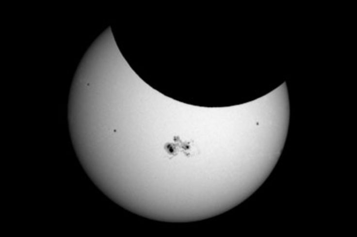 October 2014's partial solar eclipse
