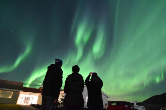 Iceland's dancing auroras