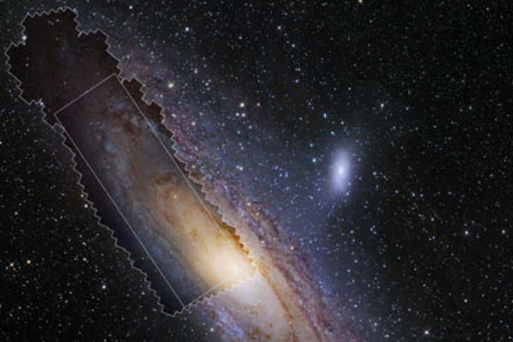 PHAT field for M31