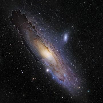 PHAT field of Andromeda