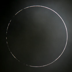 Barely annular eclipse