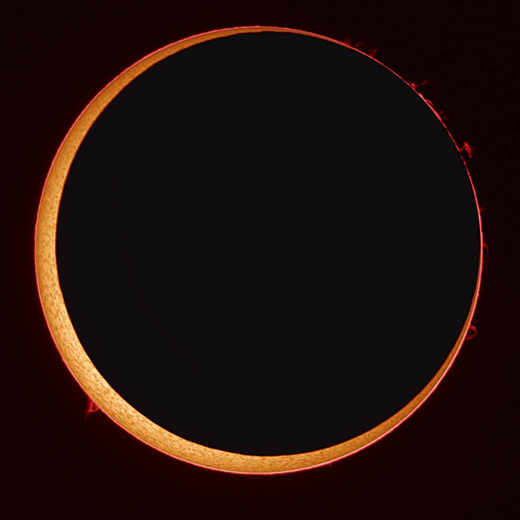 Annular eclipse in 2014