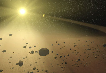 Formation of the asteroid belt
