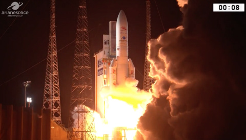 Image of BepiColumbo launch